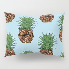 Pineapple Persian Cat Pillow Sham