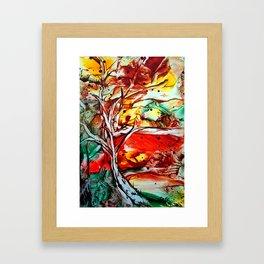 GoldenOctober Framed Art Print