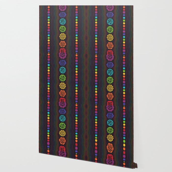 Rainbow Chakras Wallpaper