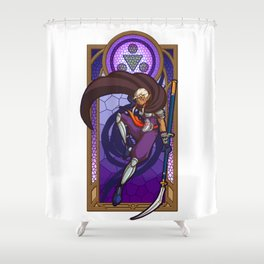 Sage of Shadows Shower Curtain