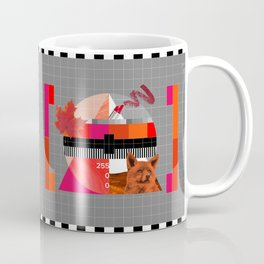 Waiting for the show to begin (Test Pattern 6) Coffee Mug
