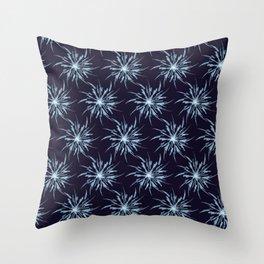Christmas Snowflakes Throw Pillow