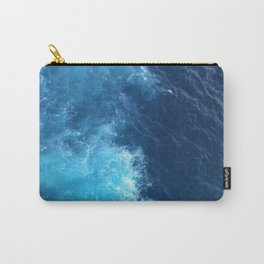 Ocean Blue Waves Carry-All Pouch