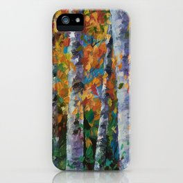 Birch trees - 1 iPhone Case