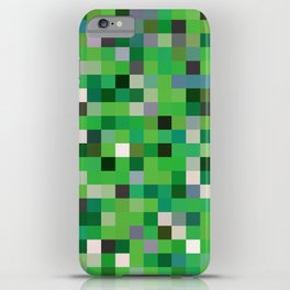 Pixel Painting iPhone Case
