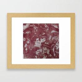 Collagraph, 2001. Framed Art Print