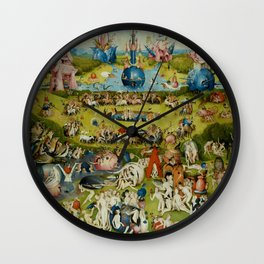 "Hieronymus Bosch ""Garden of Earthly Delights"" Wall Clock"