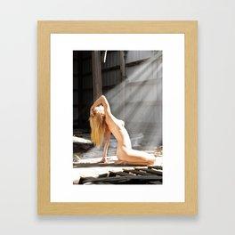 Bathed in Sunlight (1) Framed Art Print