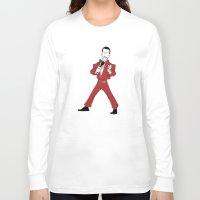 eddie vedder Long Sleeve T-shirts featuring Eddie by Gargantiahoon