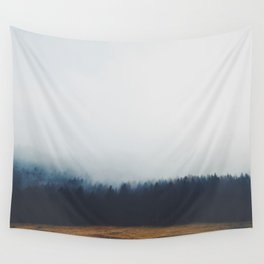 Dreary Landscape forest Wall Tapestry
