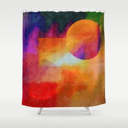 Planets in the Void - or... Shower Curtain