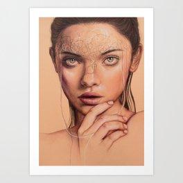Untangle Me Art Print