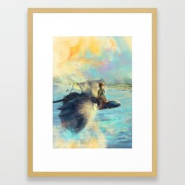 Riders of Berk Framed Art Print