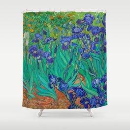 IRISES - VAN GOGH Shower Curtain