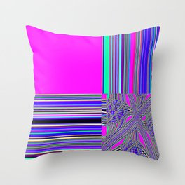 Re-Created Southern Cross XVII by Robert S. Lee Throw Pillow