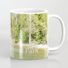 Grand Teton National Park. Landscape photography of lake and trees. Mug