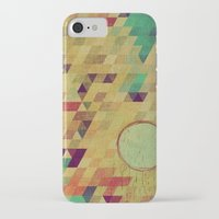 luna iPhone & iPod Cases featuring luna by Laura Moctezuma