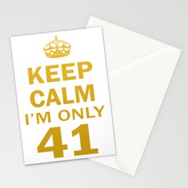 I'm only 41 Stationery Cards