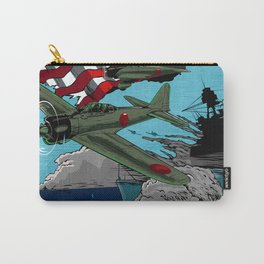 Attack on Pearl Harbor illustration. Carry-All Pouch