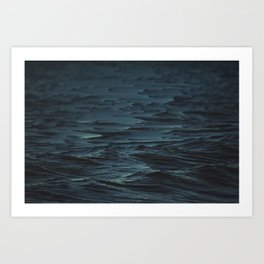 Digital Sea Art Print