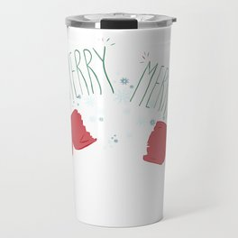 Merry Crackers Travel Mug