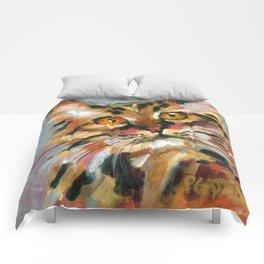 Orange Bob Comforters