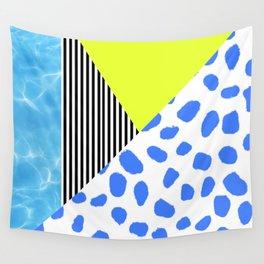 Post Modern Summer Wall Tapestry