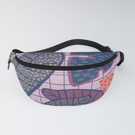 Palm & Monstera Leaves Fanny Pack