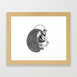Tefnut Egyptian Goddess Framed Art Print