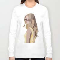 golden Long Sleeve T-shirts featuring Golden by Anna McKay