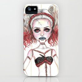 Marionette Corpse Art by Laurie Leigh iPhone Case