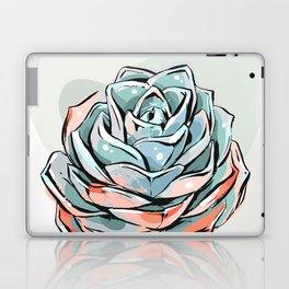 Succulent flower 1 Laptop & iPad Skin