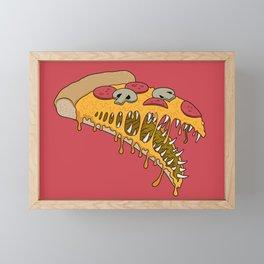 Possessed Pizza Framed Mini Art Print
