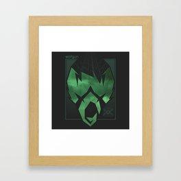 Wolfgun - Projections Framed Art Print