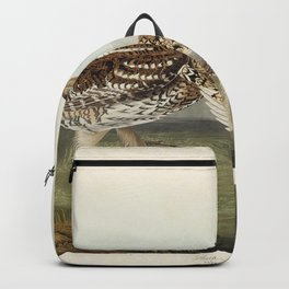 Sharp-tailed Grouse from Birds of America (1827) by John James Audubon etched by William Home Lizars Backpack