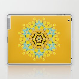 bee's flwer alone Laptop & iPad Skin