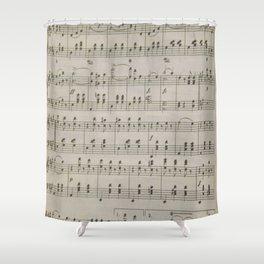 The Blue Danube Waltz Shower Curtain