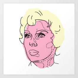 Psycho / Art Print