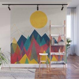Uphill Battle Wall Mural