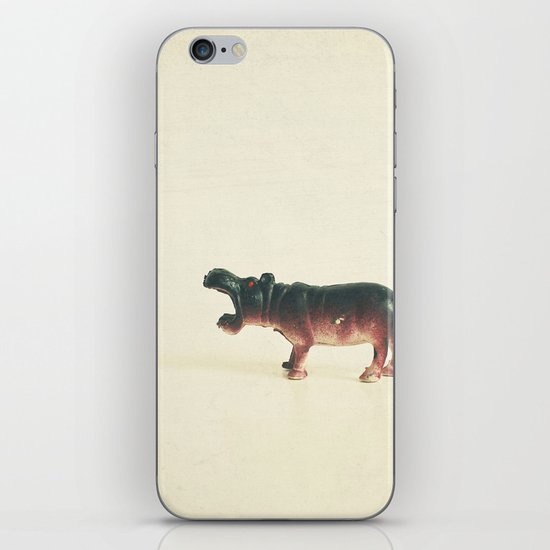 Hungry Hippo iPhone & iPod Skin