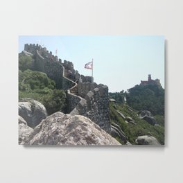 Moorish Castle Metal Print