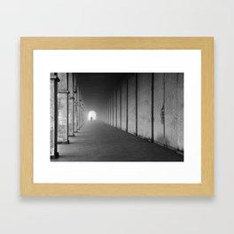 To Mist Framed Art Print