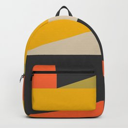 Stackables, Abstract Art Geometric Shapes Backpack
