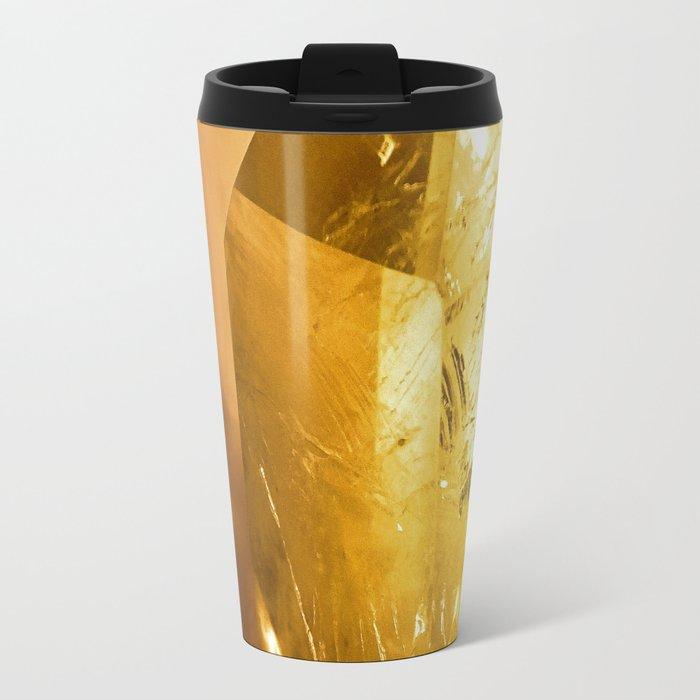 Crystal Gold Travel Mug