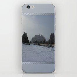 The Blowing Cold iPhone Skin
