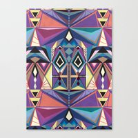 totem Canvas Prints featuring Totem by Naia Ceschin
