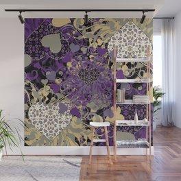 Purple Heart Wall Mural