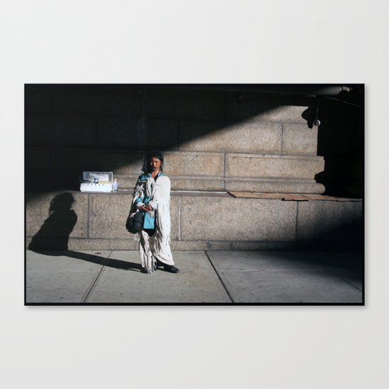 Windy NY Canvas Print