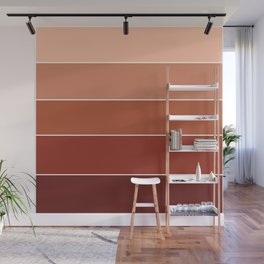 gradation in Russet Wall Mural