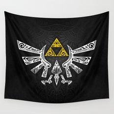 Zelda Hyrule Wall Tapestry